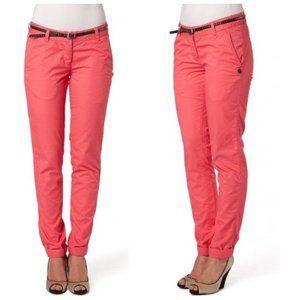 MAISON SCOTCH 100% Cotton Coral Chino Pants